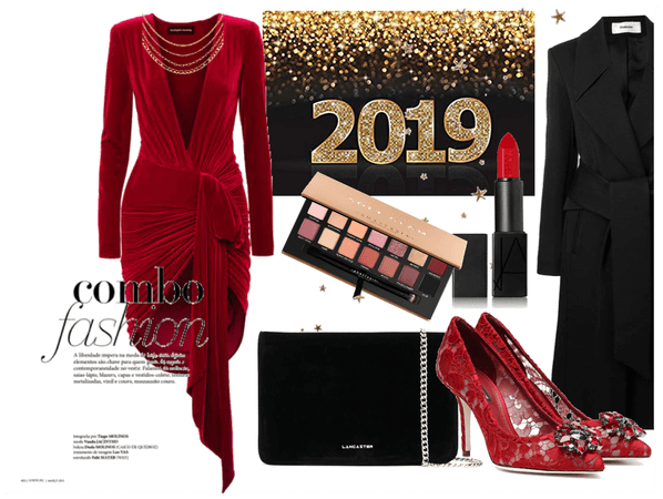 red new year 2019