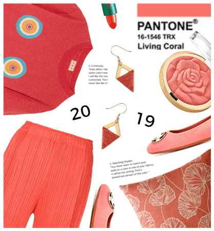 Pantone Color for 2019 is Coral