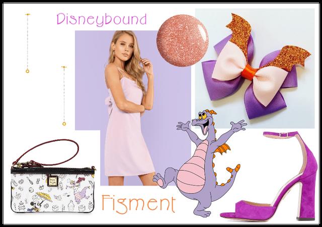 Disneybound Figment