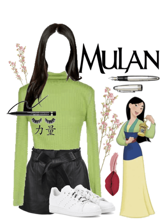 disney ladies; mulan