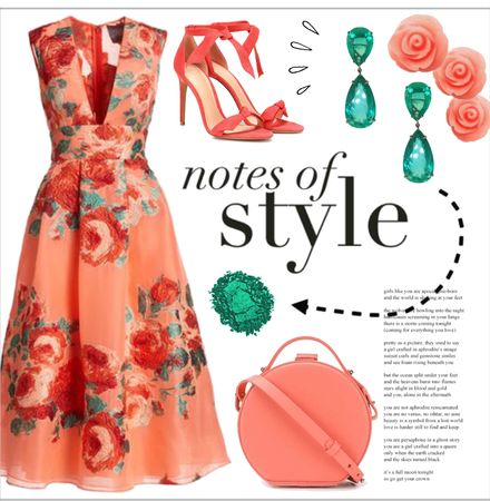 Coral and Emeralds