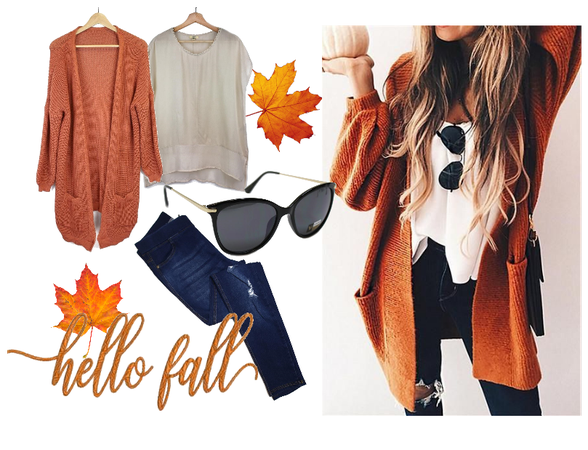 Hello Fall - Ginger Knit
