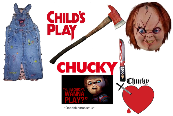 spooky chucky outfit