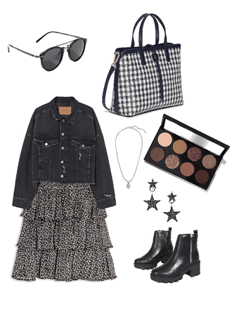 NYC stylish chic full outfit