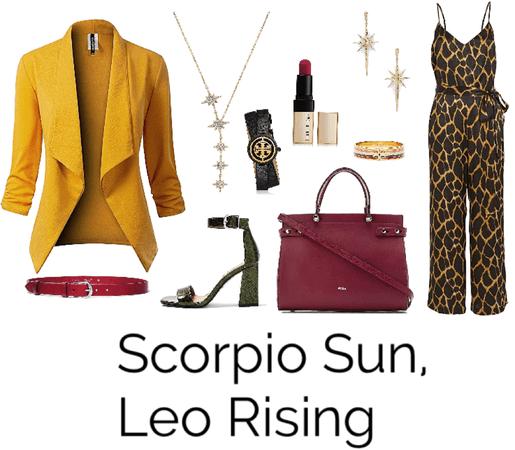 Scorpio Sun, Leo Rising