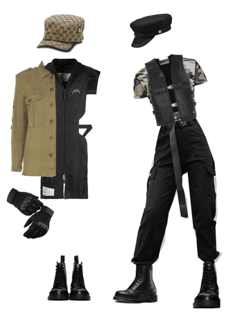 glam military