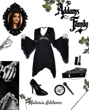 Malaria Addams - The Addams Family OC