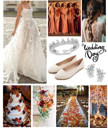 Fall Wedding Day