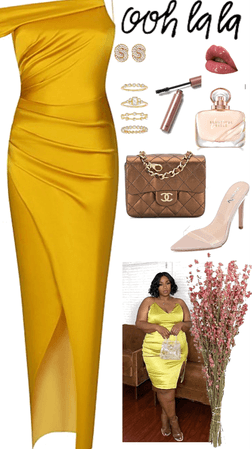 Elegant Glam Date Night Outfit