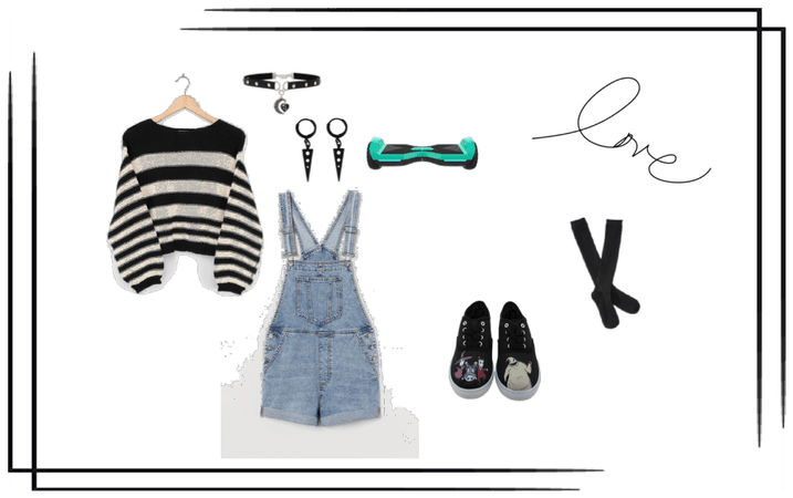 Tomboy City outfit
