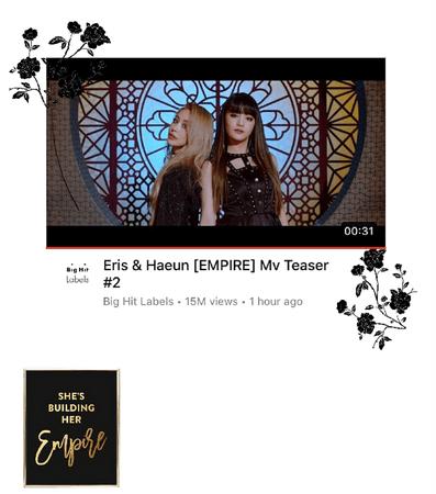 Eris & Haeun EMPIRE Teaser 2