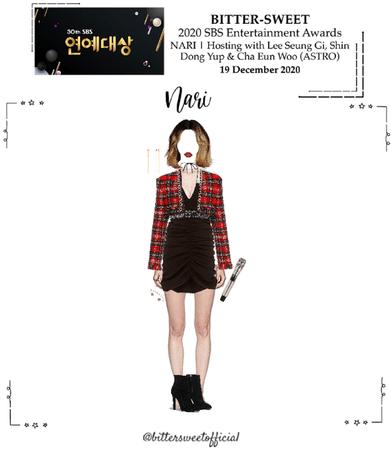 BITTER-SWEET [비터스윗] (NARI) 2020 SBS Entertainment Awards 201219