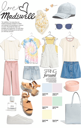 Madewell pastels