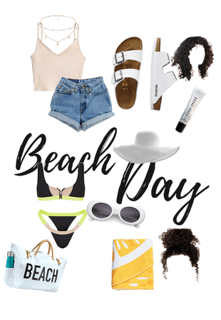 the perfect beach day 🏝 💞