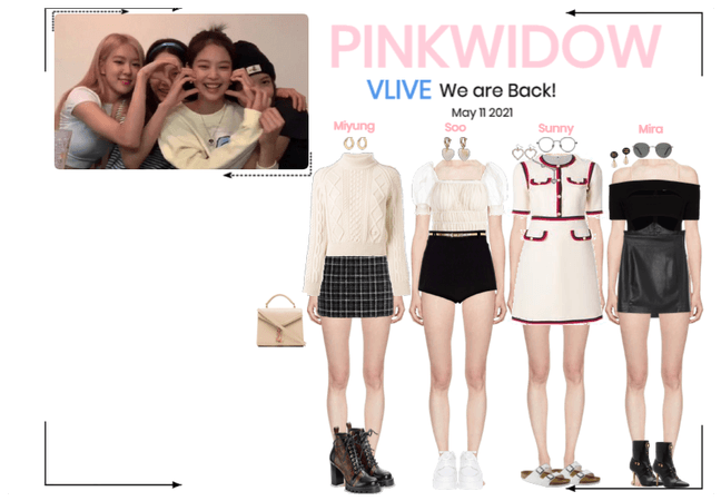PinkWidow{핑크 위도우}Vlive App