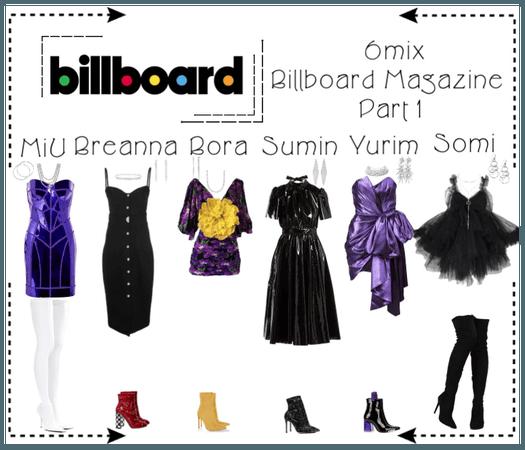 《6mix》Billboard Magazine Photoshoot (Part 1)