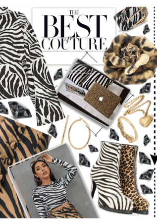 The Best Couture - Zebra ^ Cheetah ^ Opposite