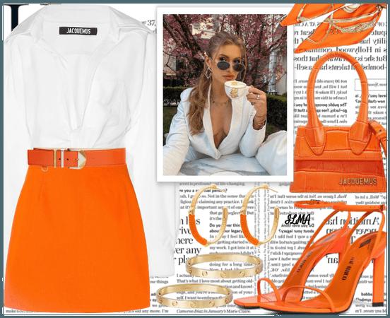 Orange for spring