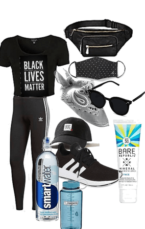 BLM protest fit