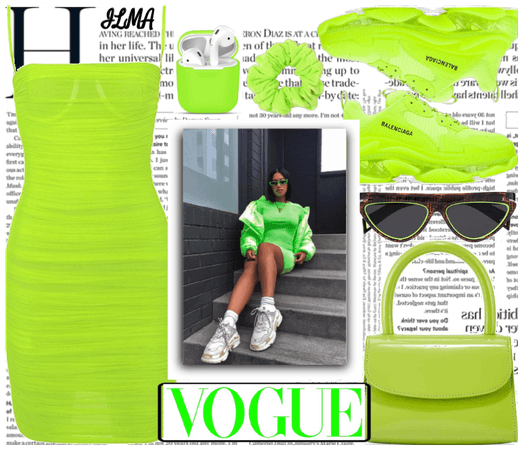 Lime Green Outfit