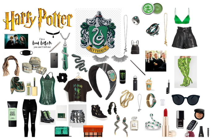 Make your Harry Potter/Hogwarts house into a OOTD