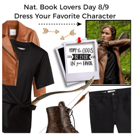 Nat Book Lovers Day: Dress your fav Character