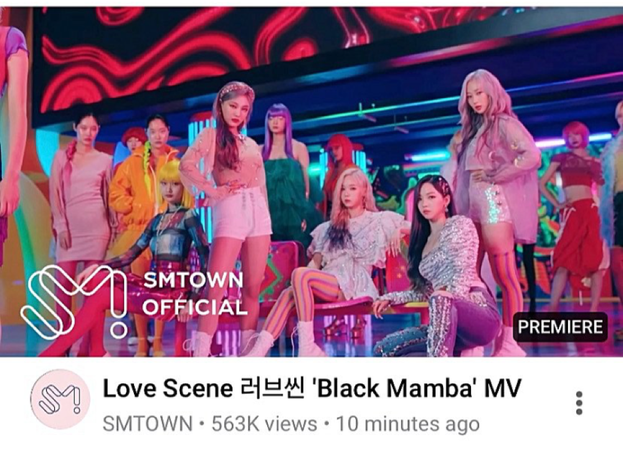 LOVE SCENE | THE 2ND DIGITAL SINGLE 'BLACK MAMBA' OFFICIAL MV