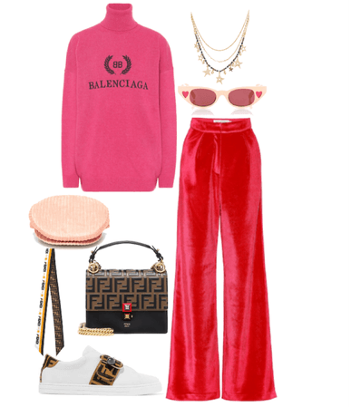 casual valentines fit