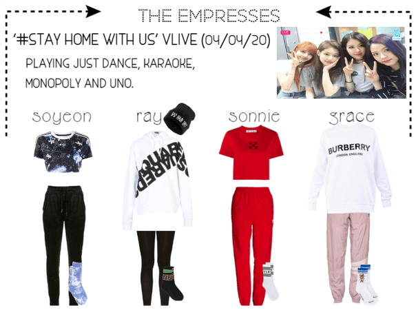 [EMPRESS] VLIVE: '#STAY HOME WITH US'