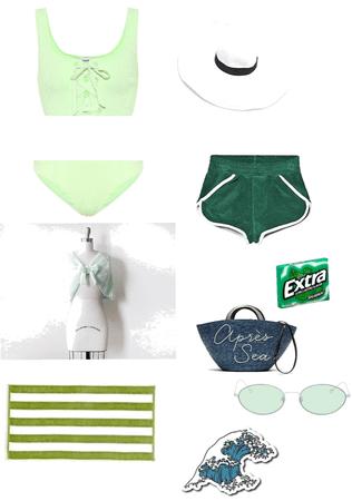 green beach day