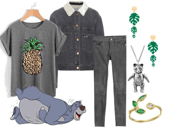 Baloo (Jungle Book) Disneybound