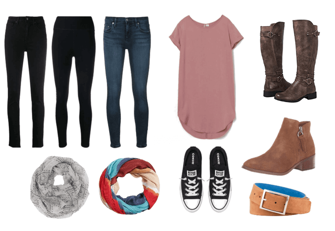 fall bottoms, shoes and accessories