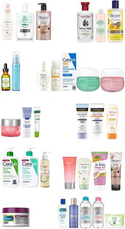 Morning/Night Skin Care Routine (Drug Store)
