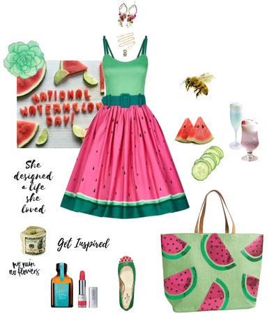 (in praise of watermelon)