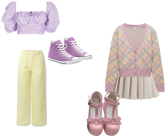 pastel outfitsss