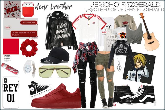 Jericho Fitzgerald - FNAF OC