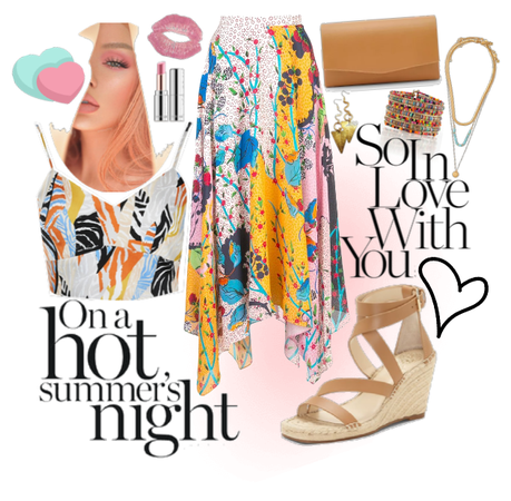 Flowy Summer Date Night