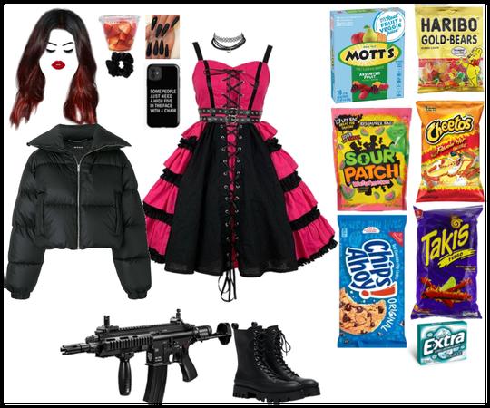 Halloween fit 4 @Emilyiscute