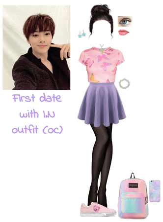 First date with I.N outfit (oc)