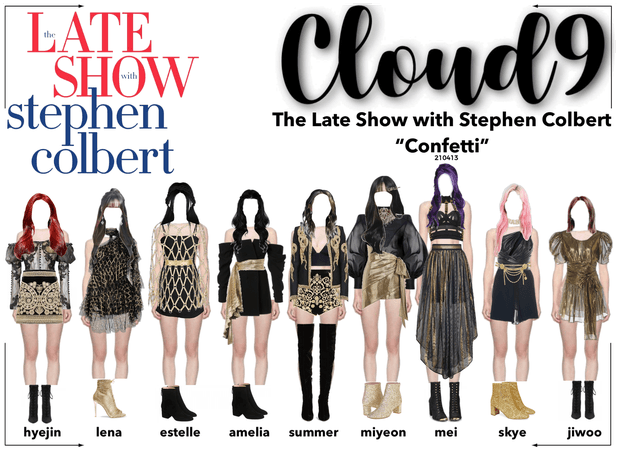 Cloud9 (구름아홉) | The Late Show With Stephen Colbert