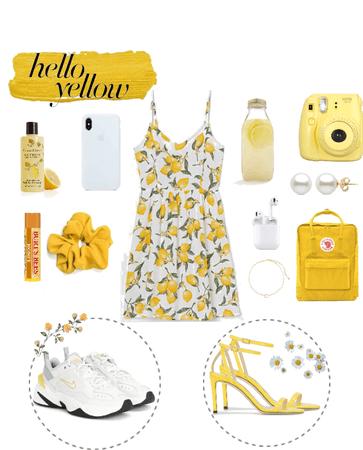 yellow summerday