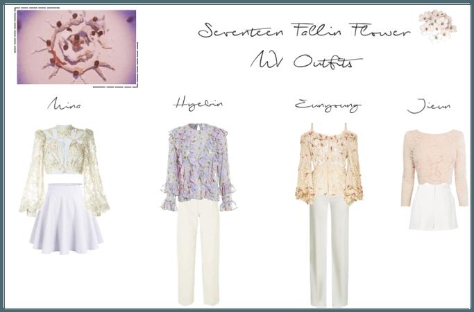 Seventeen Fallin Flower MV Outfits (1)