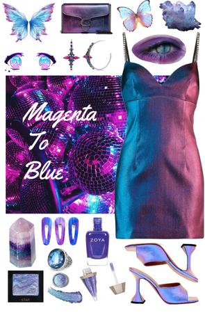 Magenta to Blue