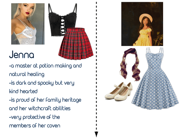 Character Intro/Nina's Dinner Outfit