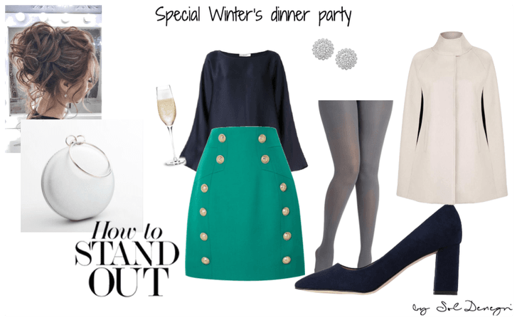classic winter's dinner party