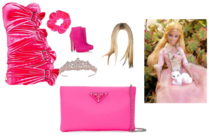 Barbie as prom queen