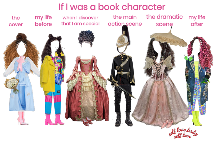 If I was a book character