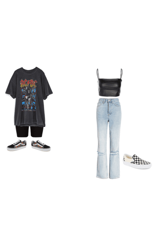 Grunge & Soft girl outfits (2)