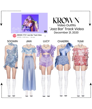 Youtube: KROWN Jazz Bar Track Video Outfits