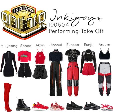 190804 Inkigayo - Take Off